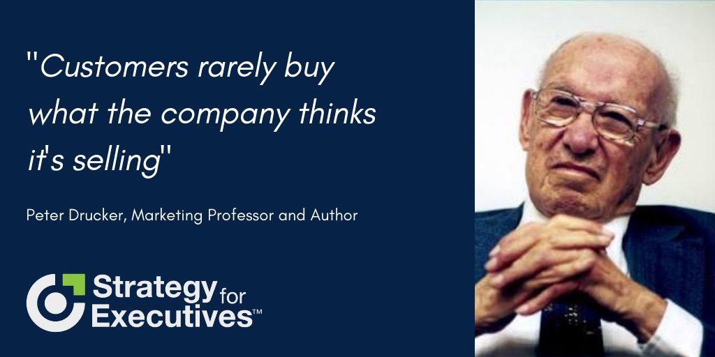 Peter Drucker leadership quote