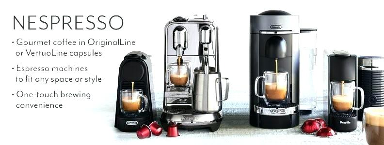 Nespresso innovative products.